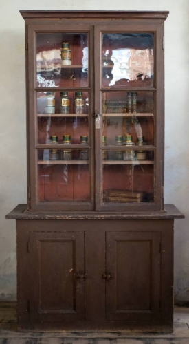 Mid 19th C  French Bookcase  in original pain