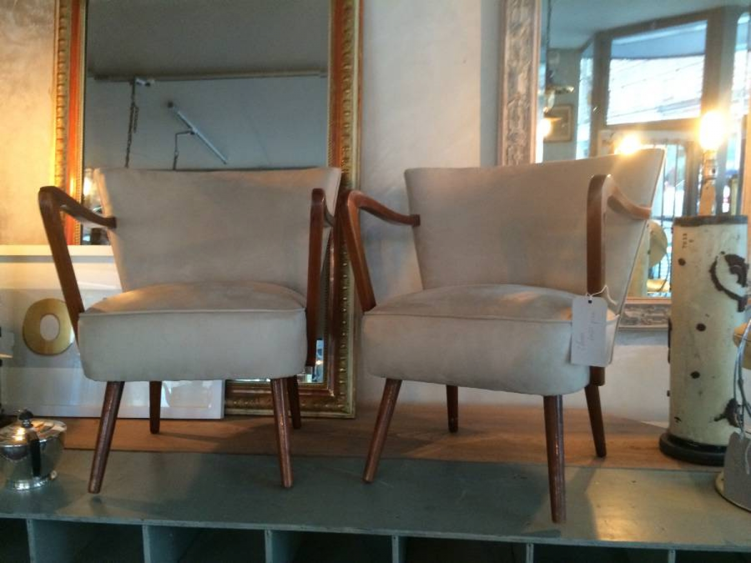 Pair of mid century  German chairs