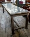 French Zinc topped Patisserie table - picture 2