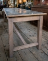 French Zinc topped Patisserie table - picture 3