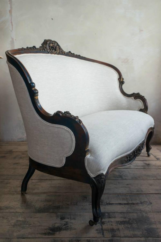 Napoleon iii canape sofa in furniture for The canape company
