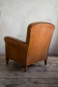Leather Club chair of small proportions C 1935 - picture 3