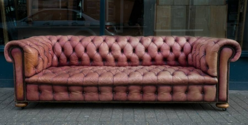 English Chesterfield Sofa C 1900