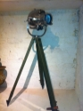 Polished vintage theatre light on tripod - picture 4