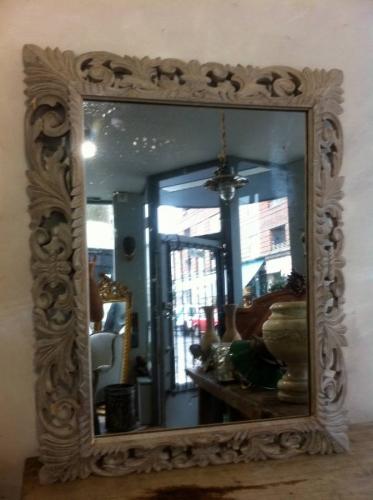 Oak mirror c 1890