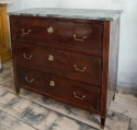 Mahogany Directoire Style commode late 19thc - picture 3
