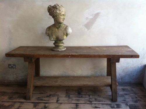 Butchers bench/console