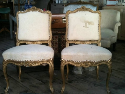 Pair of Louis Style Chairs