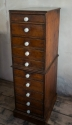 Victorian Pine tall chest - picture 2