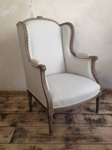A late 19th century French chair