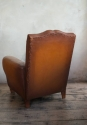 Pair of  Moustache back Leather  Club chairs - picture 3