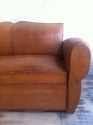 French leather Moustache back sofa - picture 2
