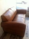 French leather Moustache back sofa - picture 3