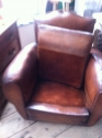 Pair of Moustache back club chairs - picture 2