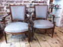 Pair of 19th Century French Fauteuils - picture 1