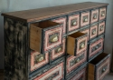 Victorian Painted   Bank of Drawers - picture 3
