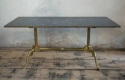 1970`s Marble and Brass Coffee Table - picture 1