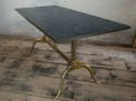 1970`s Marble and Brass Coffee Table - picture 3