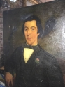 Naive Portrait of a Gentleman c1860 - picture 1
