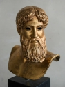 Gilt Bronze Greek bust of Alexander the Grea - picture 2