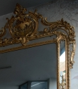 Rare English Pier Glass Mirror c1870 - picture 2