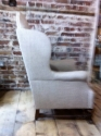 17th C style Wing Armchair - picture 3