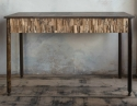 Brutalist/Industrial Console Table - picture 1