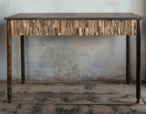 Brutalist/Industrial Console Table