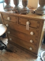 Victorian painted Pine chest of drawers - picture 3