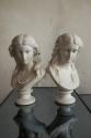 Two Copeland Parian Spring & Summer Busts - picture 2