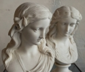 Two Copeland Parian Spring & Summer Busts - picture 3