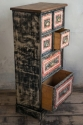 Small painted Bank of Drawers - picture 2