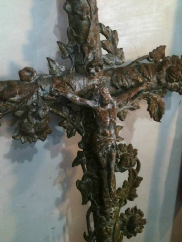 C18th French Iron Cross