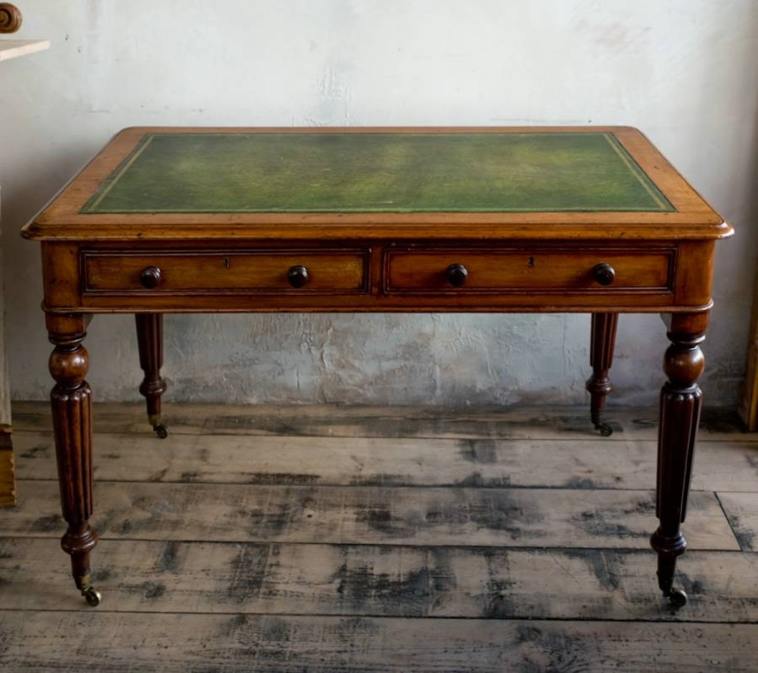 George IV  Mahogany writing table in the sty