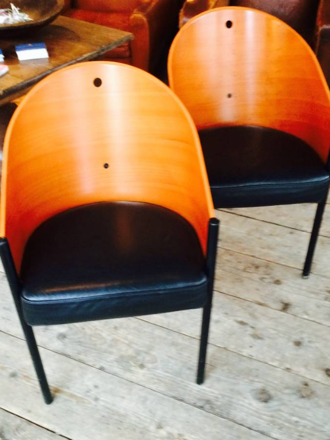 Pair of Phillipe Starck Costes Chairs