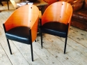 Pair of Phillipe Starck Costes Chairs - picture 2