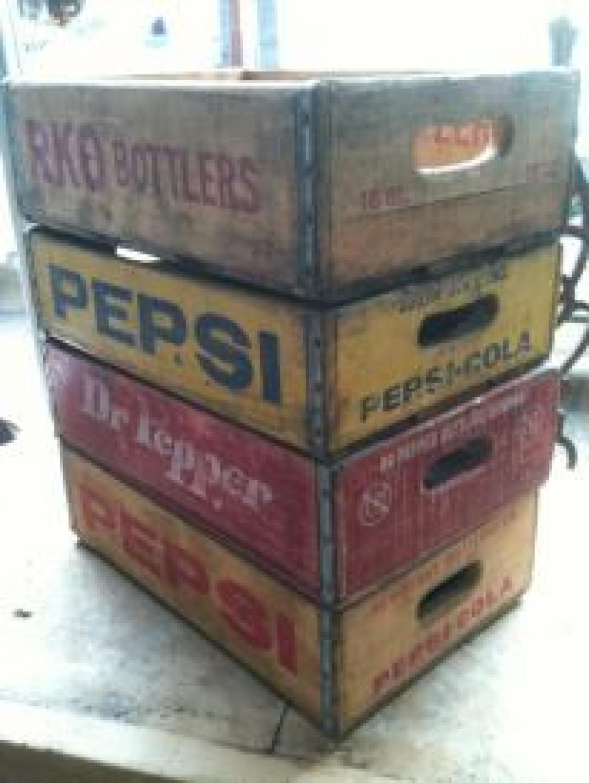 Vintage Pepsi Crates