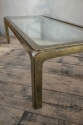 1970`s Brass and Clear Glass Coffee Table - picture 3