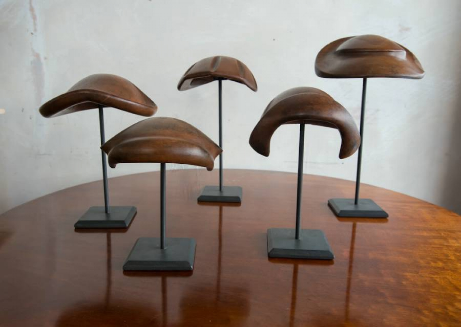 A collection of rare 1930s Hat Stands
