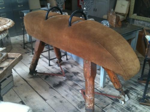 Pommel horse dated 1939
