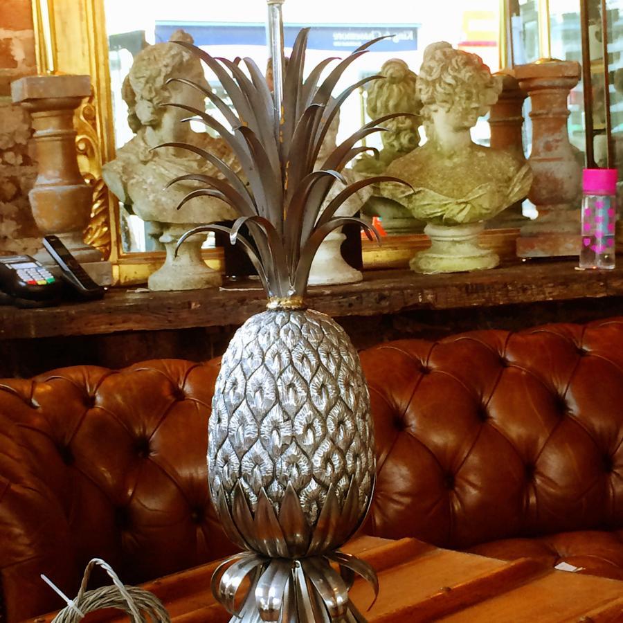 Hollywood Regency Pineapple Lamp