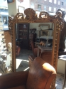 Mid 19th C French Shell Crested Mirror - picture 3
