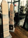 Pair of Pink Marble and Silver plated Obelisk - picture 5