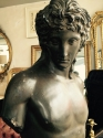 Classical Terrcaotta Male Torso - picture 1