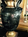 Late 19th French Bronze lamp - picture 2