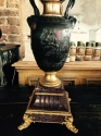 Late 19th French Bronze lamp - picture 6