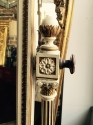 George III style painted dressing mirror - picture 2