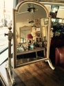 George III style painted dressing mirror - picture 6