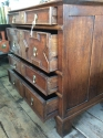 James II Oak Chest of Drawers - picture 10
