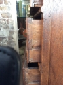 James II Oak Chest of Drawers - picture 13